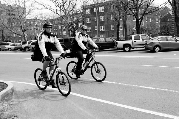 Brookline Police Department, Fred Amendola, bike patrol