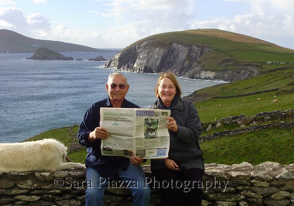 Sue Carroll and Jerry Grant in Ireland