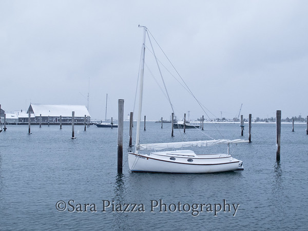 Edgartown, Snow, Christmas