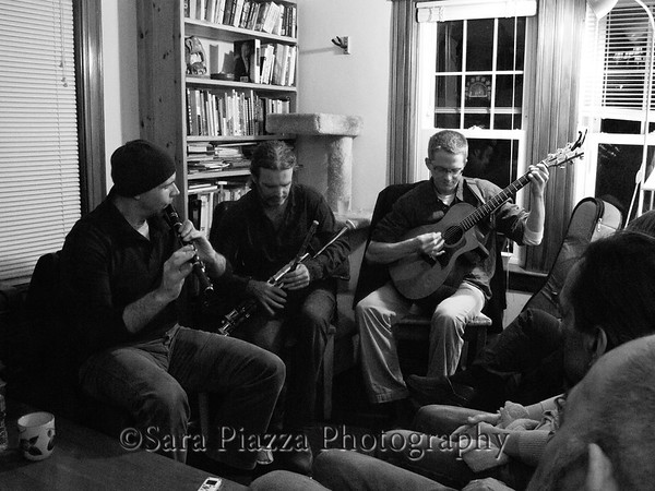 Kevin Crawford, Cillian Vallely, Lunasa, Ted Davis, George Keith, house concert